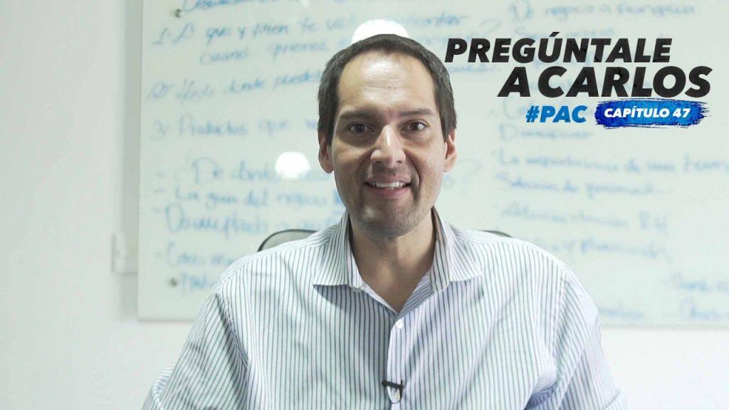 """#PreguntaleACarlos 47: """"Donde hay un problema, siempre hay una oportunidad"""""""