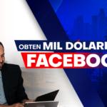 Obtén mil dólares en Facebook